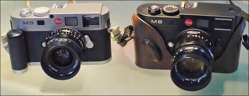 Leica M8 Voigtlander 75mm f/2.5 Heliar M9 28mm f/2 Ultron