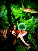 ponder (bob the builder of luv) Tags: woman mushroom girl sprite pixie fairy fantasy photgraphy fairie jenniferharvey jenniferwatts