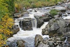 Flume Falls (Christy Hibsch ( Christy's Creations on Facebook )) Tags: autumn essexcounty adirondacks upstateny waterfalls wilmington ausableriver adirondackwaterfalls