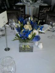 Squat Vase (Shoots Florist) Tags: flowers blue squat vase