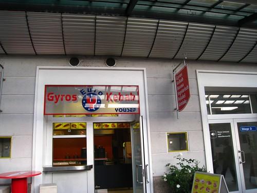 Gyros Kebab (Yousef) @ HBF Salzburg