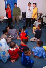 Kumpulan Nasyid Sohwah dari PEMBINA turut menghiburkan adik-adik (Ikatan Muslimin Malaysia Cawangan Hulu Langat) Tags: raya hari aidilfitri sambutan