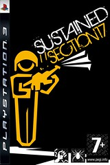 Sustained .//section17 cover (1) (Theeries) Tags: jason heron photoshop xbox 360 playstaion ps3 sustained