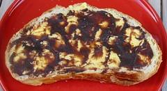 Beurréed'nièr beurre black butter on bread (Jerzzy Journey Boutique) Tags: black bread butter beurre beurréednièr