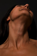 Neck and throat erotic