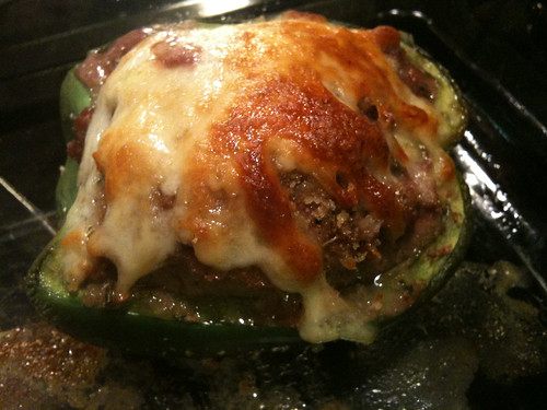 Stuffed Bell Pepper - Close up
