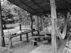 Casa de índio - cozinha