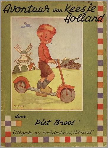Avontuur van Keesje Holland by Piet Broos, 1945