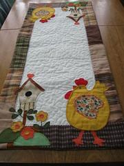 Trilho galinha (flavia_sm1963) Tags: patchwork aplicao