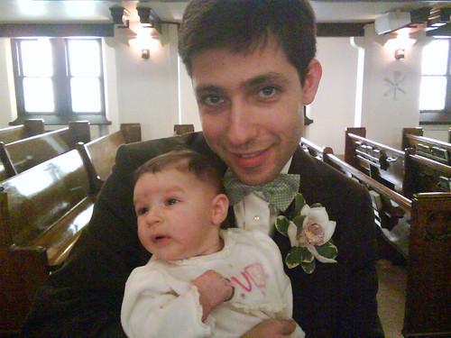 At Isaac's wedding