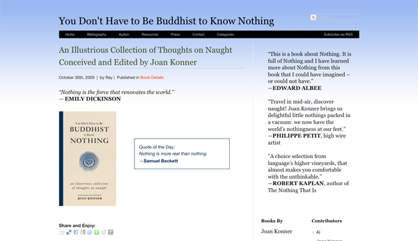 You Don't Have to Be Buddhist to Know Nothing_1257453308365