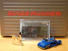 Blade Runner - Ultimate Collection - (neomanox) Tags: origami bladerunner harrisonford ridleyscott coche blade runner darylhannah seanyoung rutgerhauer unicornio ultimatecollection maletn montajefinal