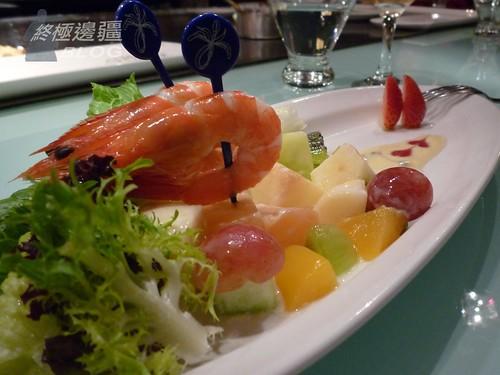 鮮蝦水果沙拉 (by PipperL)