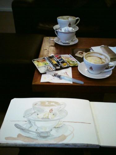 cappuccino sketchbreak