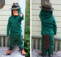 Perry the Platypus - Agent P - Halloween costume