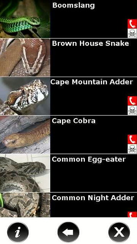 Mobi Snake Guide for South Africa