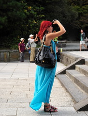 Kamakura Japan () Tags: camera vacation holiday man me fashion island temple nikon buddha kamakura yo buddhism moi redhead daibutsu  nippon kanagawa ich isle rtw japon buddhistt