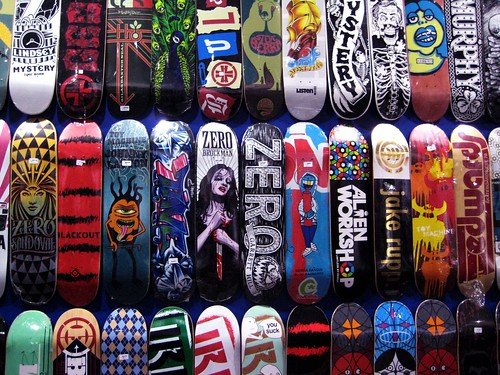 skateboards by drumnbassfiend, on Flickr