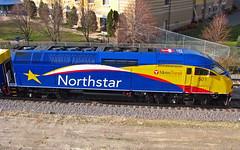Northstar Locomotive (MSPdude) Tags: minnesota train canon logo minne