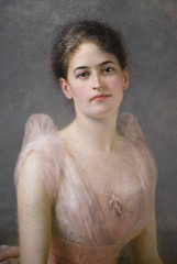 JULIETTE GORDON LOW (1860-1927) (Maulleigh) Tags: girl smithsonian low edward gordon scouts juliette hughes 1887