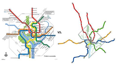 Dc Mythbusting Metro Map To Scale We Love Dc