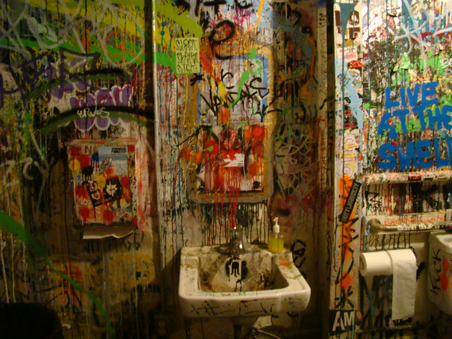 The Smell, Bathroom by dimegreta, on Flickr
