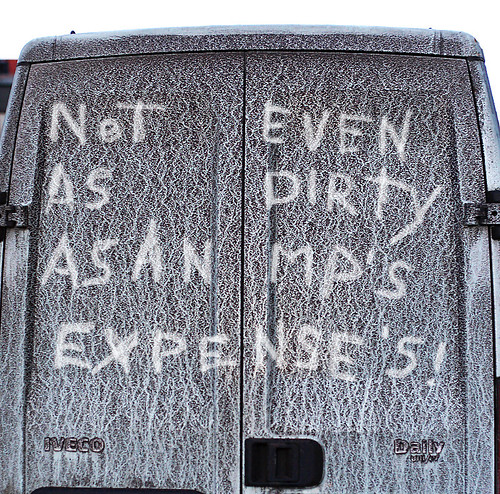 dirty van