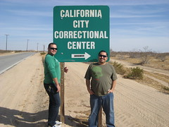Sergio & James in California City. (11/07/2009)
