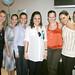 Stacey Collett de Domínguez, Rocío de Salas, Yolanda Varela, la futura mamá María Fernanda de Abreu, Carolina de Cagigas, Tanya de Del Valle y Marissa de García.