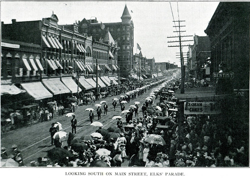 An Elks Parade on Joplin's Main Street