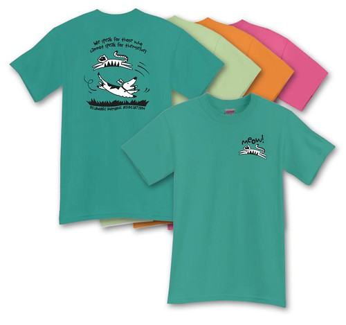 "DHA ""Meow!"" T-Shirts & Sweatshirts"