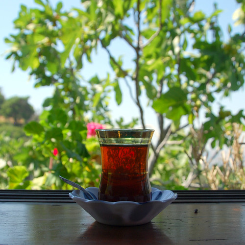 turkish tea in kaplan