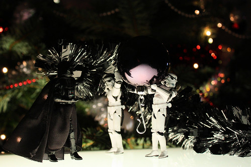 This Christmas tree must join the Dark Side