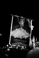 L'intoccabile (gioko206) Tags: bw roma no bn viola berlusconi locandina manifestazione 51209 nobday popoloviola lintoccabile
