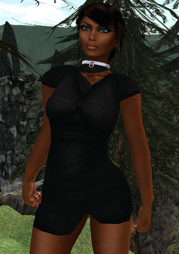 Chimney Hunt 018 Doux Couture Obscure Layers Dress
