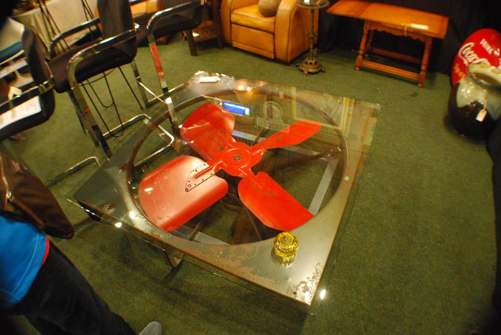 fan coffee table