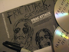 Frac Attack! soundtrack cover artwork