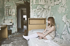 (yyellowbird) Tags: selfportrait abandoned girl hospital bedroom cari michaelreese