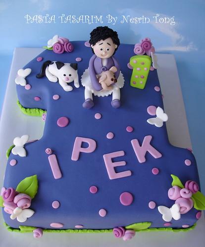 1ST BIRTHDAY CAKE - IPEK