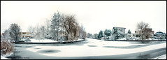 Panorama  ~Winterwonderland~ (Alex Verweij) Tags: white snow cold ice canon frost freezing photostich 1022mm wir almere ijs vorst 2photos abigfave singlehdr anawesomeshot filmwijk dedoka lumierepark alexverweij