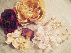 New Hair Corsage