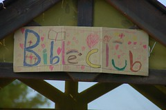 Bible Club Sign