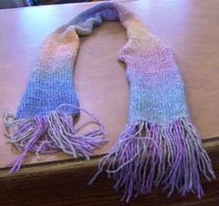 Mexican Wave Scarf 1 (asparagusknits) Tags: