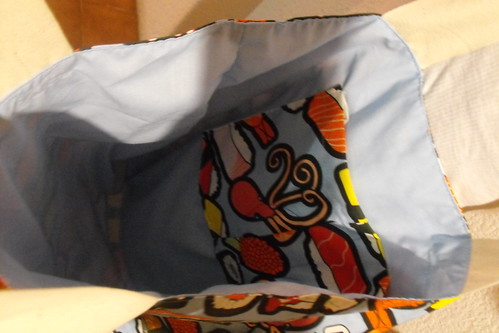 Interior bolsa de sushi
