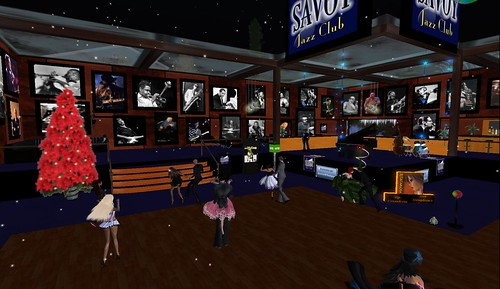the savoy jazz club dance floor