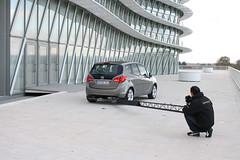 Neuer Opel Meriva: Fotoshooting in Zaragoza