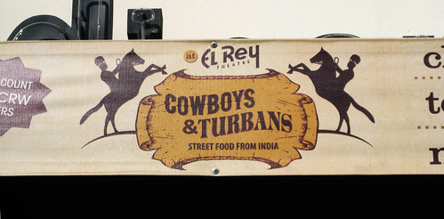 Indian Fusion Food at Cowboys and Turbans at El Rey Theater