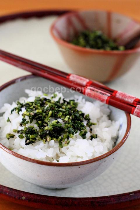 Japanese style condiment 人参葉とゴマのふりかけ