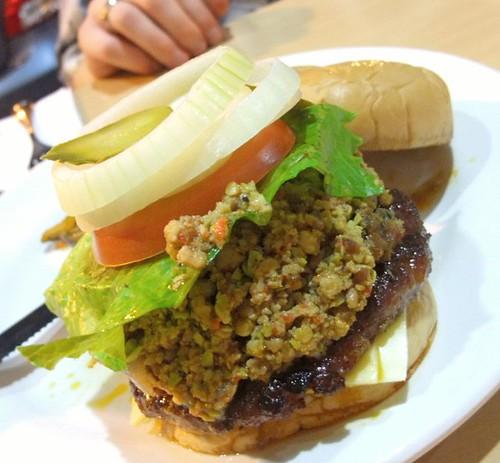 P-7 Pork Burger: The ultimate Petai Burger!