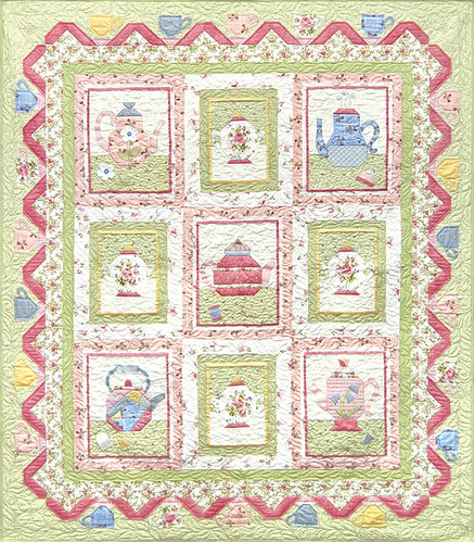 Sweet Tea Block of the Month Quilt